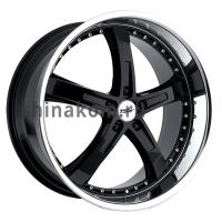 8*18 5*112 ET32 72 TSW Jarama Gloss Black Mirror Cut Lip