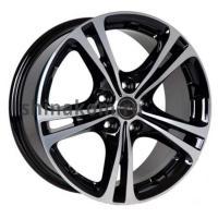 8*18 5*112 ET35 72,5 Borbet XL Black polished