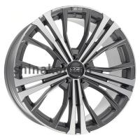 10*19 5*112 ET31 75 OZ Cortina Matt Dark Graphite Diamond Cut