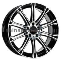7*17 5*114,3 ET40 72,5 Borbet CW1 Black polished