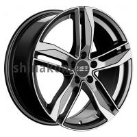 8*18 5*112 ET40 66,5 Fondmetal Hexis Gloss Black Machined