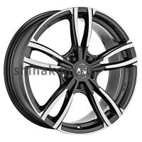 8*18 5*112 ET28 73 MSW 73 Gloss Dark Grey