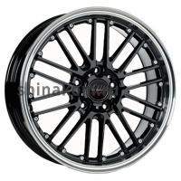 7*17 5*105 ET40 56,6 Borbet CW2/5 Black Rim Polished
