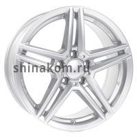 6,5*16 5*112 ET49 66,5 Rial M10 Polar Silver