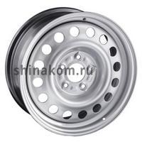 6*15 4*100 ET45 56,6 Trebl X40006 Silver
